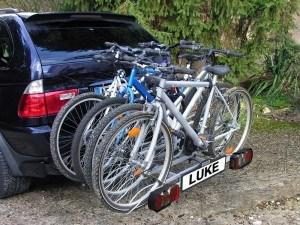 EUFAB Heckträger an BMW montiert
