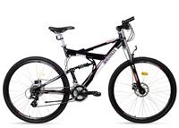 Das Mountainbike sollte zusätzlich am Carbonrahmen befestigt werden