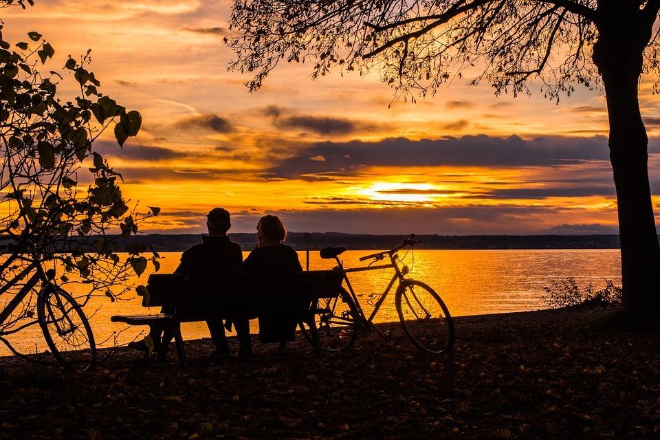 sunset-bike