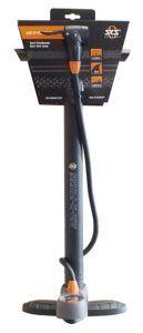 SKS Stand-Luftpumpe mit Manometer und Duokopf für alle Ventilarten Air X-Press, schwarz- grau, 560