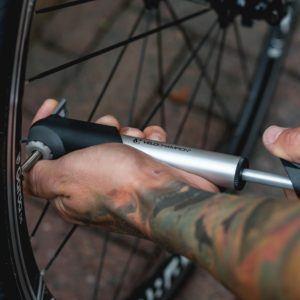VeloChampion Legierung 7 Kleine Fahrradpumpe